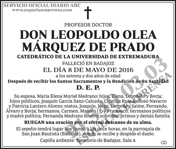 Leopoldo Ole Márquez de Prado